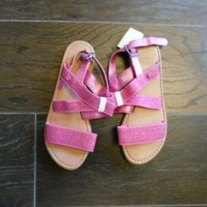 Ugg Australia Size 4 Youth Sparkle Girls Sandals